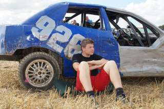 Stockcar Rennen in Exing am 29.08.2013